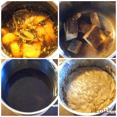piparkakut, appelsiinipiparit, kananmunaton, maidoton, ohje