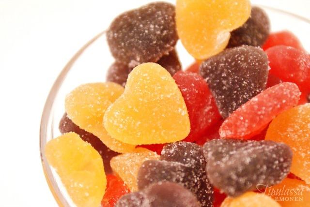 marmeladi, marmelaadi, herkkulakko, sokerilakko, hedelmäkarkki