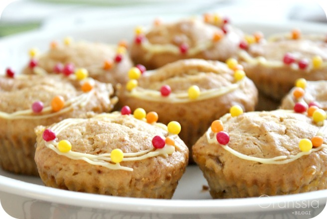 kananmunattomat ja maidottomat muffinita