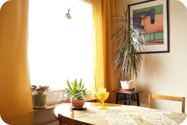 värikäs koti, keittiö