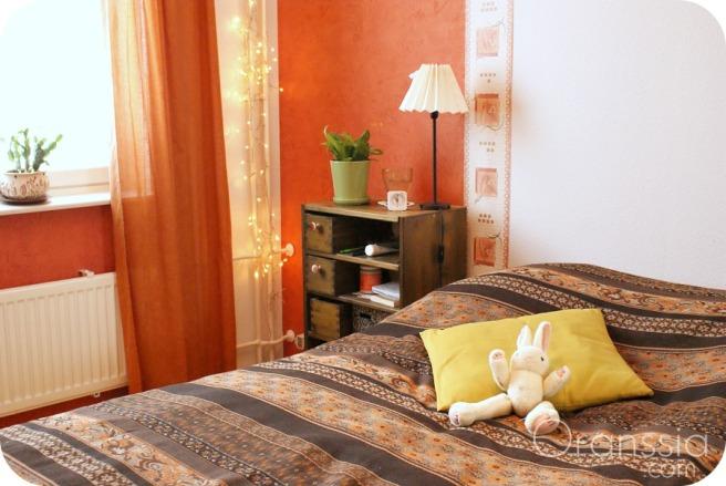 värikäs koti, makuuhuone