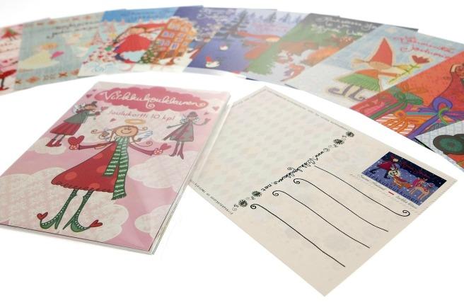 virkkukoukkunen-sokerienkeli-joulukorttinippu